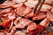 고기,훈제오리,구이
