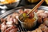 흑돼지,삼겹살,구이,고기