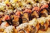 롤,초밥,튀김