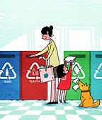 라이프스타일, 캠페인, 환경보호 (환경), 환경보호, 라이프스타일 (주제), 환경 (주제), 플라스틱, 재활용 (환경보호), 휴지통 (쓰레기용기)