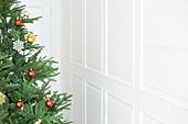 크리스마스, 거실, 크리스마스트리, 벽 (건물의부분)
