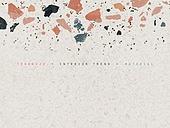 트렌드, 백그라운드, 재질, 패턴, 돌 (암석), Terrazzo, 테라조