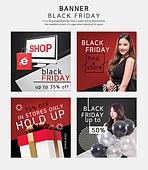 웹템플릿, 배너 (템플릿), 팝업, 상업이벤트 (사건), 세일 (사건), 쇼핑 (상업활동), 블랙프라이데이, 선물상자, 선물 (인조물건), 캘리그래피 (문자), 검정색 (색상), 패턴