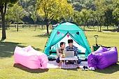 커플 (인간관계), 한강공원 (서울), 휴식