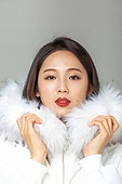 한국인, 동양인 (인종), 패딩, 롱패딩, 재킷 (외투), 따뜻한옷 (옷), 겨울, 외투, 미녀 (아름다운사람), 패션