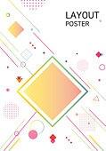 백그라운드, 포스터, 레이아웃, 카피스페이스, 컬러, 패턴