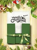 그래픽이미지, 편집디자인, 레이아웃, 상업이벤트 (사건), 파티, 겨울, 크리스마스 (국경일), 선물 (인조물건), 비즈 (봉제도구), 장식품 (인조물건)