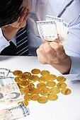 한국인, 비즈니스, 비트코인, 가상화폐, 화폐, 지폐, 쥐기 (홀딩), 쇠퇴 (컨셉)