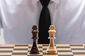 비즈니스, 비즈니스맨 (사업가), 스튜디오촬영 (실내), 실내, 누끼, 한국인, 동양인 (인종), 클로즈업, 사람손 (주요신체부분), 모션, 정장, 성인남자, 20-29세 (청년), 30-39세 (장년), 체스, 체스판, 대결