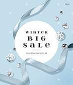 쇼핑, 겨울, 세일, 할인, 배너