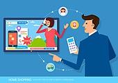 쇼핑 (상업활동), 홈쇼핑, 세일 (사건), 텔레비전 (전기용품)