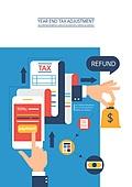 영수증 (서류), 연말정산, 연말, 세금, 국세청, 비즈니스
