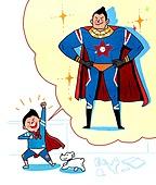 장래희망, 직업, 교육 (주제), 상상력 (컨셉), 슈퍼히어로 (영웅)