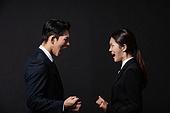남성, 여성, 비즈니스, 고함 (말하기), 갈등 (컨셉), 분노