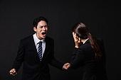 남성, 여성, 비즈니스, 고함 (말하기), 갈등 (컨셉), 분노, 소음
