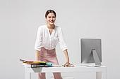 여성, 비즈니스, 비즈니스우먼, 신입사원, 일 (물리적활동), 직업 (역할), 미소, 낙천적 (컨셉)