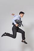 남성, 비즈니스맨, 화이트칼라 (전문직), 출퇴근 (여행하기), 점프