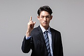 남성, 비즈니스맨, 손가락