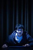 청년 (성인), 게임, 중독, 집중 (컨셉), 미소