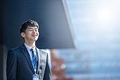 남성, 비즈니스, 구직 (실업), 신입사원 (화이트칼라), 성공, 기쁨, 행복
