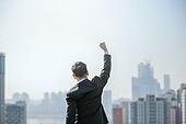 남성, 비즈니스, 구직 (실업), 신입사원 (화이트칼라), 성공, 뒷모습, 도전 (컨셉), 결의 (컨셉), 지도력 (컨셉)