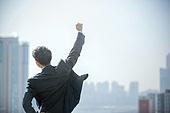 남성, 비즈니스, 구직 (실업), 신입사원 (화이트칼라), 성공, 도전 (컨셉), 결의 (컨셉), 황홀 (밝은표정)