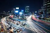 서울 (대한민국), 한국 (동아시아), 풍경 (컨셉), 도시, 도시풍경, 자동차, 교통, 교통수단, 자동차 (자동차류), 교통체증 (교통), 도심지 (구역), 도로, 출퇴근 (여행하기)
