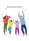 2019년, 새해 (홀리데이), 환호 (말하기), 희망, 기쁨, 꽃, 가족, 어린이 (인간의나이)