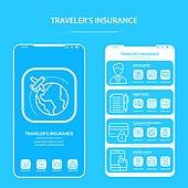 여행자보험 아이콘