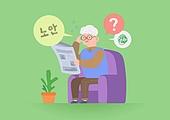노인, 건강관리 (주제), 보험 (주제), 질병