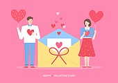 사랑 (컨셉), 발렌타인데이, 커플, 상업이벤트 (사건), 선물 (인조물건)