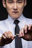 남성, 담배제품 (인조물건), 금연 (흡연문제)