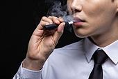 남성, 담배제품 (인조물건), 금연 (흡연문제), 흡연 (주제), 전자담배, 연기 (물리적구조)
