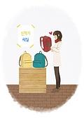 라이프스타일, 학생, 개학 (교육), 시작, 책가방, 세일 (사건)