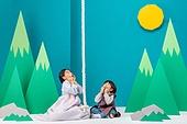 전래동화, 퍼포먼스극 (공연예술), 동화, 어린이 (인간의나이), 한복, 햇님달님