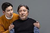 한국인, 아빠, 아들, 가족, 세대차이 (나이차이), 의심, 우울
