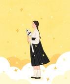 3.1운동, 유관순, 유관순 (유명인), 소녀, 3.1운동 (세계역사사건), 독립운동가, 태극기, 구름, 개나리, 꽃