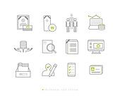 아이콘, 건강한생활 (주제), 건강관리 (주제), 보험 (주제), 아이콘세트, 장례