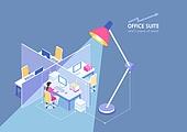 비즈니스, 비즈니스 (주제), 비즈니스미팅 (미팅), 일러스트, 사무실, 회사건물 (건물외관), 회의실, 프로젝트, 사업가 (화이트칼라), 열정 (컨셉)