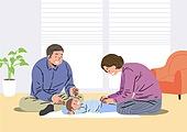 황혼육아, 육아, 노인, 가사, 돌보기