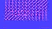 파워포인트, 메인페이지, 패턴, 변화, 리듬