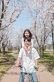 커플 (인간관계), 봄, 데이트, 미소