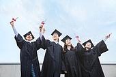 청년 (성인), 대학교, 대학생, 졸업, 졸업 (학교생활), 미소, 희망