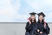 청년 (성인), 대학교, 대학생, 졸업, 졸업 (학교생활), 미소