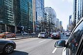 서울 (대한민국), 한국 (동아시아), 자동차, 자동차 (자동차류), 운전, 교통, 거리 (도시도로), 도로, 출퇴근, 도심지 (구역), 도시, 라이프스타일 (주제), 사이드미러, 테헤란로, 강남구 (서울)