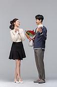 성년의날, 로즈데이, 기념일, 커플 (인간관계), 로맨스 (컨셉), 데이트 (로맨틱), 커플, 데이트, 꽃다발, 장미