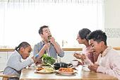 다문화가족 (가족), 한식, 식사, 쌈