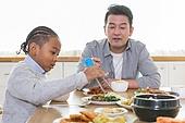 다문화가족 (가족), 한식, 식사, 젓가락, 교육 (주제), 연습