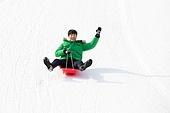 남성, 썰매타기 (겨울스포츠), 웨이빙 (제스처)