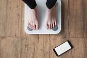 다이어트, 체중계, 스마트폰, 모바일앱 (인터넷)